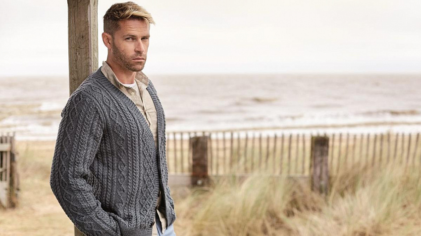 Мужские свитеры и кардиганы — главные тренды текущего сезона