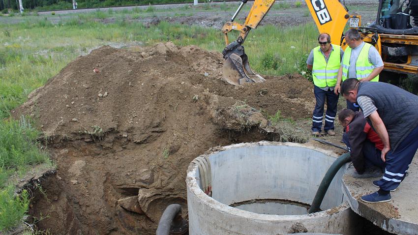 «Засуха» в Коркино продолжается