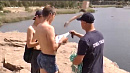 Парень прыгнул с обрыва «Изумрудного» карьера во время беседы со спасателями