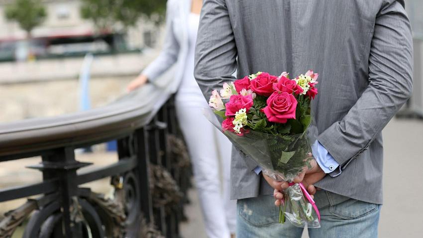 Цветы для романтического ужина