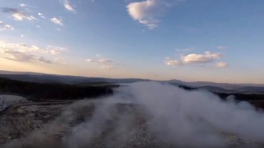 Назван виновник крупных пожаров на свалке Златоуста