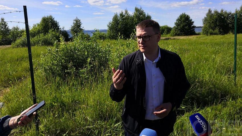 Алексей Текслер осмотрел важные объекты Аргаяшского района