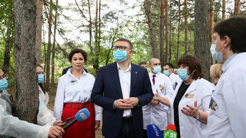 Алексей Текслер подтвердил план строительства детского хирургического корпуса
