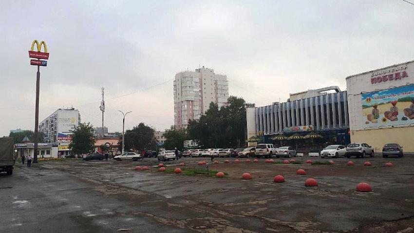 В Курчатовском районе Челябинска разгоняют стихийный рынок