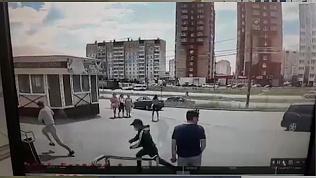 Видеокамера зафиксировала грабителей в момент преступления