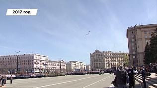 Видеоистория парада Победы в Челябинске