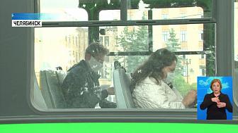 В городском транспорте проверили масочный режим