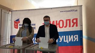 Алексей Текслер принял участие в Общероссийском голосовании