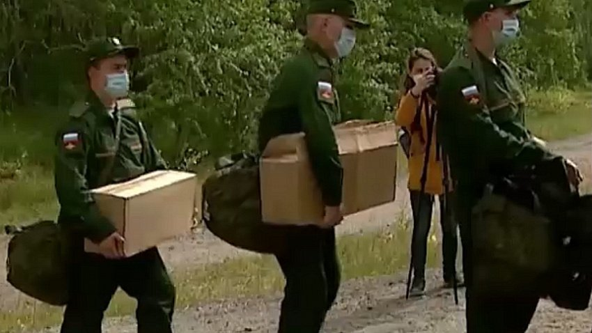 На сборном призывном пункте «Челябинск-Южный» сохраняется напряженная ситуация