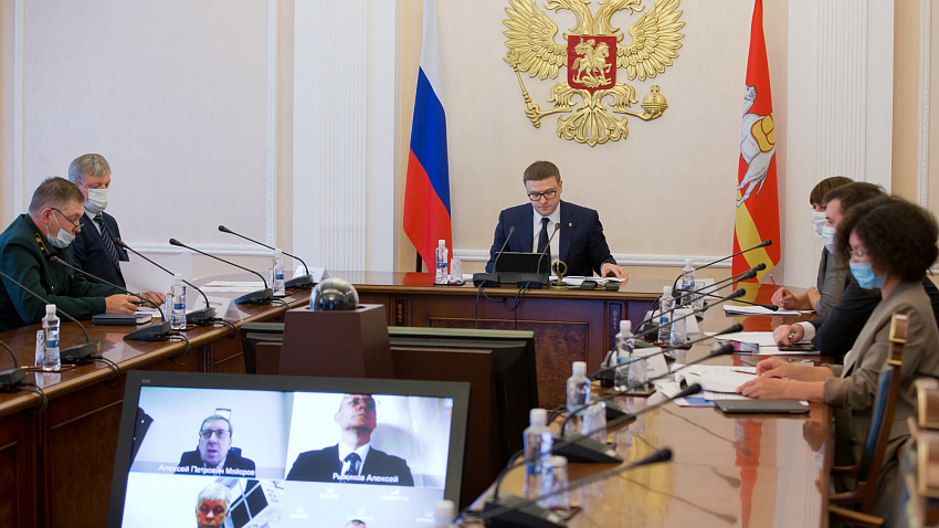Алексей Текслер предложил продавать древесину через Санкт-Петербургскую биржу