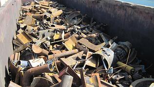 За 20 минут 240 килограммов металлолома украл житель Магнитогорска