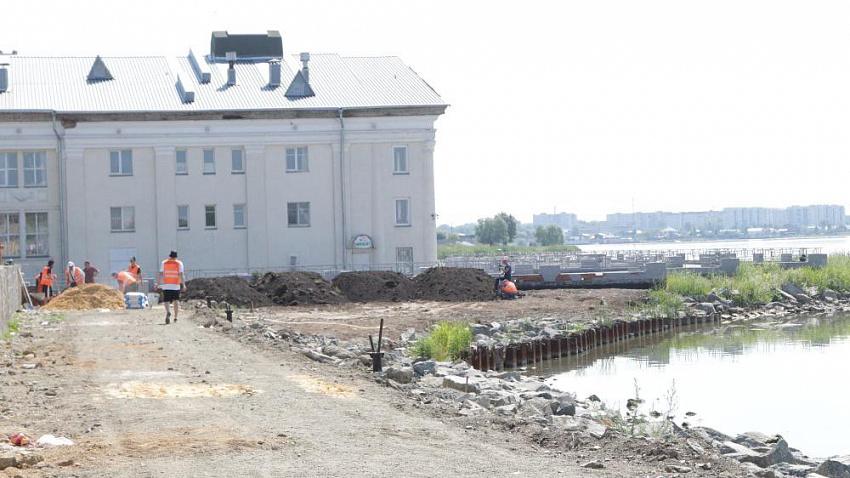 В Ленинском районе Челябинска обустроят новую набережную