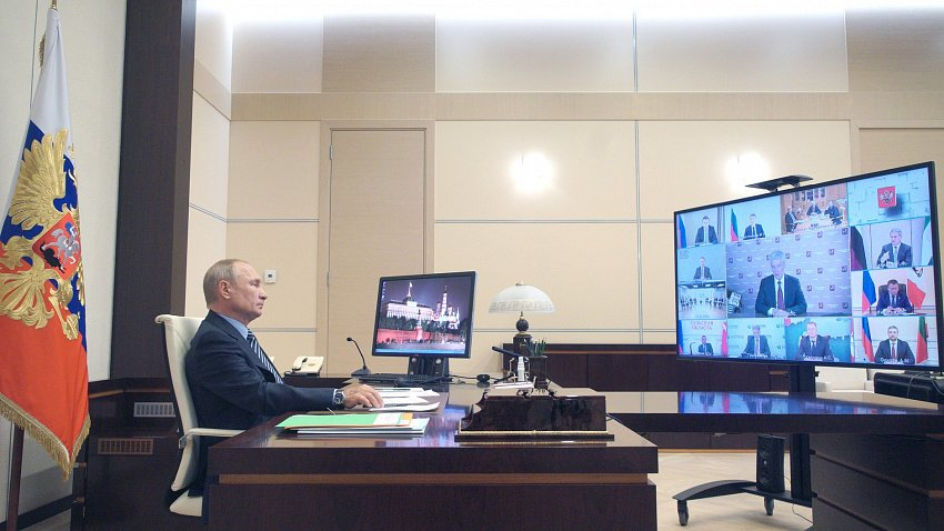 Владимир Путин одобрил инициативы главы бизнес-объединения «Опора России»