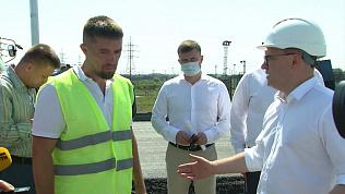 Алексей Текслер раскритиковал подрядчиков за строительство моста к аэропорту Челябинска