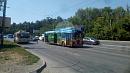В Челябинске троллейбусы встали в пробку на АМЗ