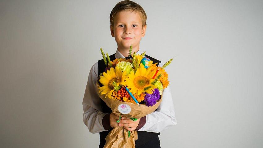 Какие цветы подарить учителю на 1 сентября
