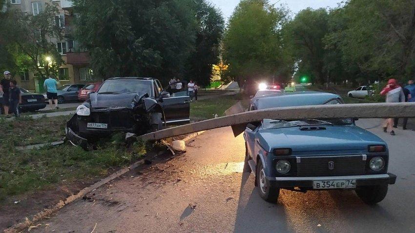 Пять человек пострадали в ДТП за сутки в Челябинске