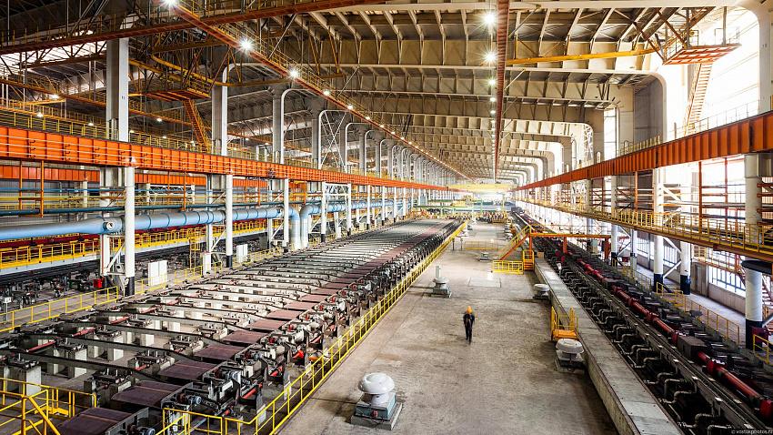 В Челябинской области снизились объёмы промышленного производства