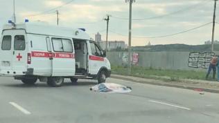 «Лексус» насмерть сбил пешехода в Челябинске