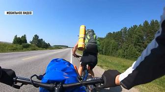 Туристы проехали на велосипеде 230 километров