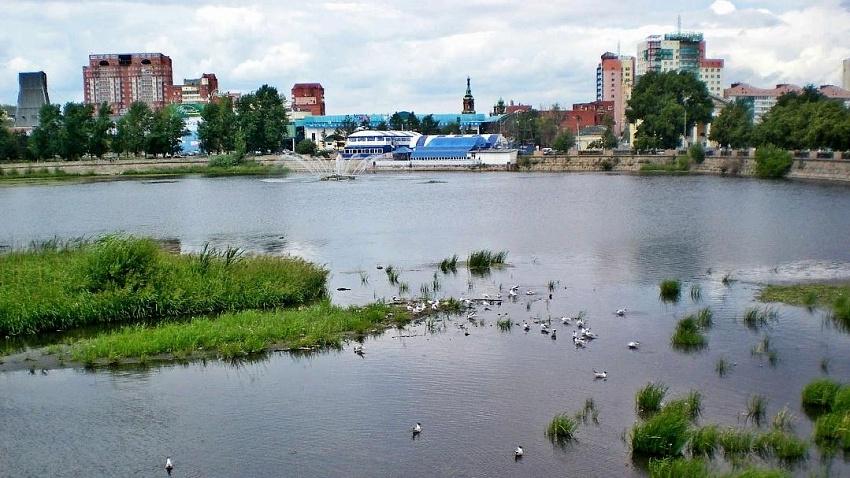 Генеральная уборка: министерство экологии Челябинской области чистит реку Миасс