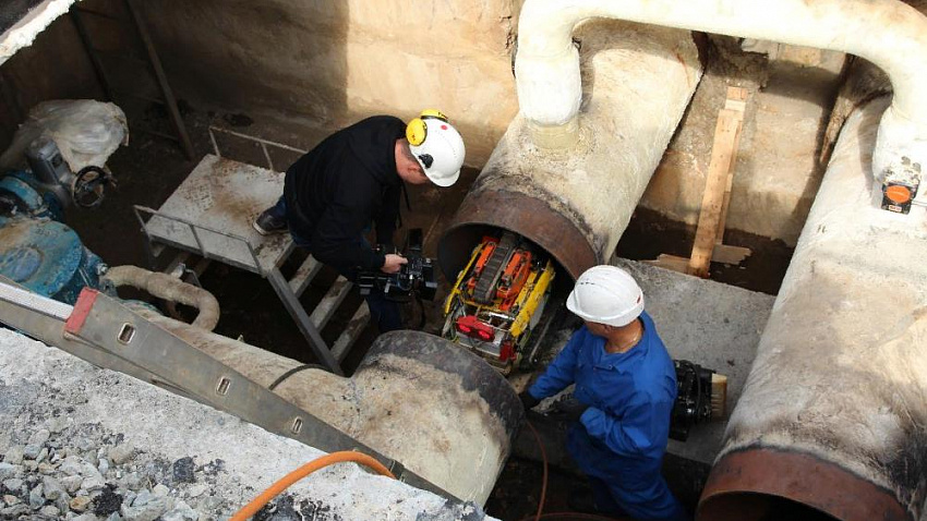 В Челябинске повреждения на сетях проверяют роботы