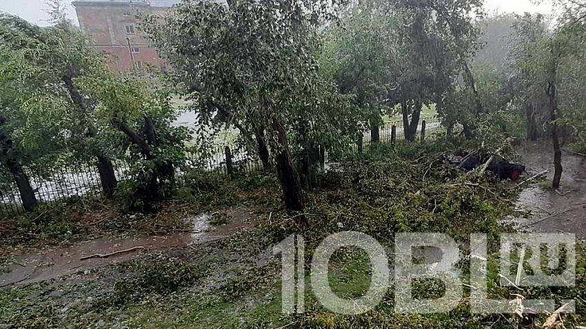 В Челябинске подсчитывают ущерб от пятничного урагана