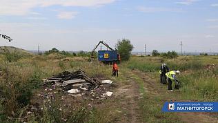 Садоводы устроили несанкционированную свалку в Магнитогорске