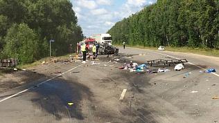 Южноуральская семья погибла в ДТП в Пензенской области