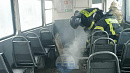 Десять пассажиров эвакуировались из дымящегося трамвая в центре Челябинска