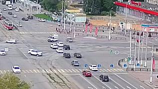 ДТП в Магнитогорске: скорая упала на бок