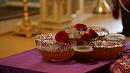 С литургии и освящения меда начал Успенский пост Митрополит Григорий