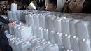 Более 15 тысяч литров спирта изъяли у жителей Каслей
