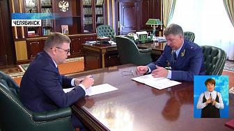 Губернатор встретился с транспортным прокурором