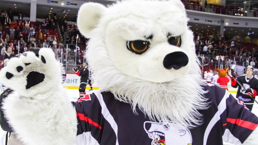 Стало известно, останется ли Белый медведь талисманом ХК «Трактор»