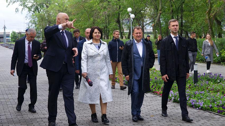 Инспекция из столицы: благоустройство Челябинска оценил федеральный эксперт