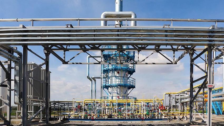 В Магнитогорске запустили завод по производству сжиженного природного газа