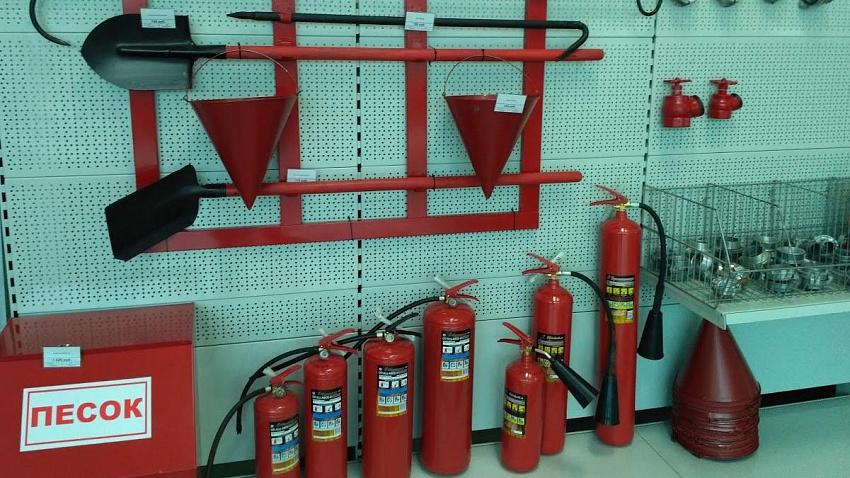 Требования к пожарному инвентарю
