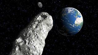 Крупный астероид приближается к Земле