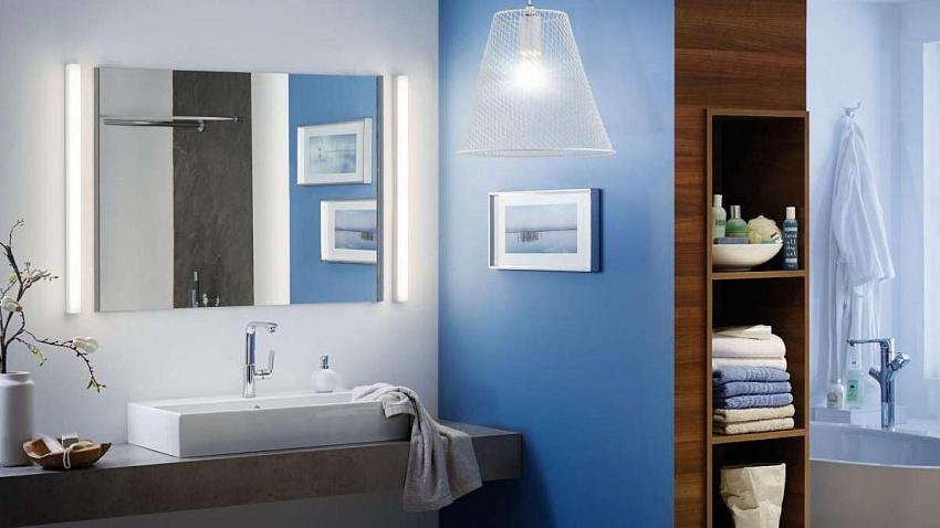 Советы по выбору светильников и бра для ванной комнаты