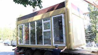 От незаконных ларьков продолжают избавляться в Челябинске