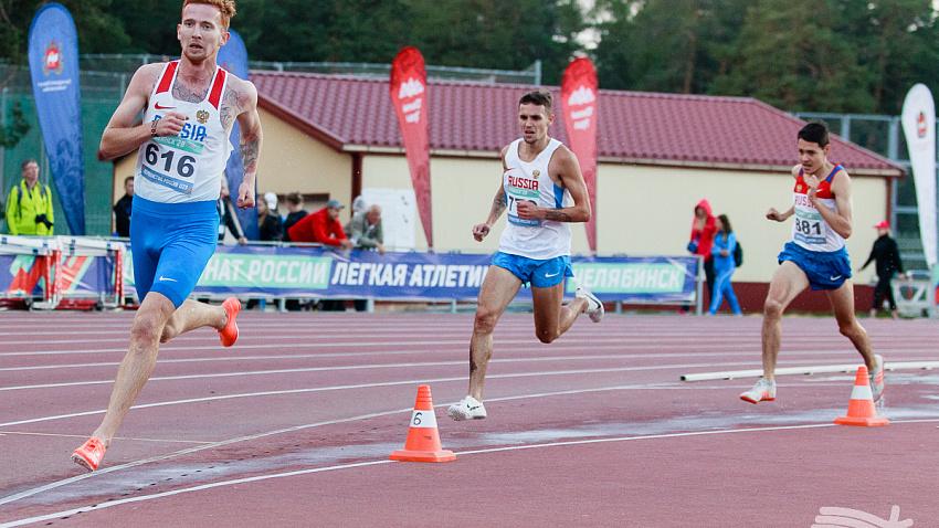 За два дня чемпионата России по легкой атлетике южноуральцы получили три медали
