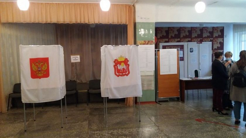 Общественники следят за голосованием на выборах в Заксобрание