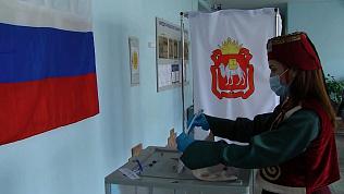Южноуральцы пришли на избирательные участки в национальных костюмах