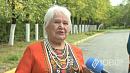 Избирателей в Курчатовском районе Челябинска встречает частушечница