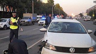 Пешеход погиб под колесами автомобиля в Челябинске