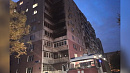 Пожар уничтожил несколько балконов многоэтажки в Челябинске