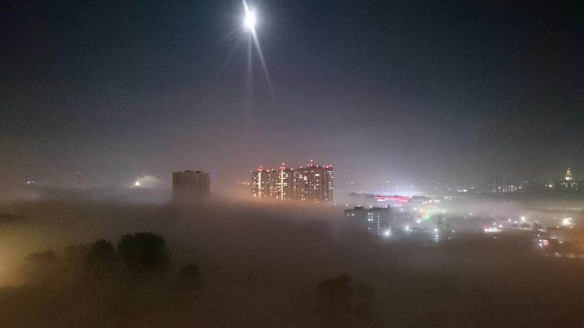 В Челябинске из-за сильного тумана задерживаются самолеты
