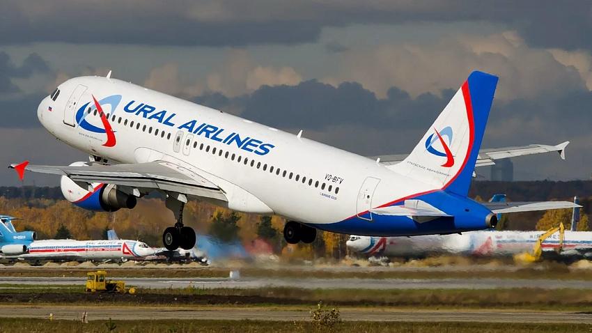 «Уральские авиалинии» отменили рейсы из Челябинска в Москву и обратно