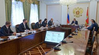 Алексей Текслер встретился с представителями одного из операторов мобильной связи